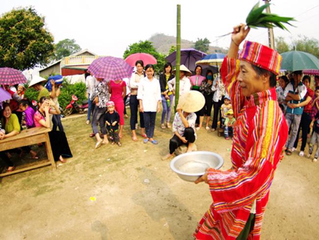 Lễ hội cầu mưa của người Thái