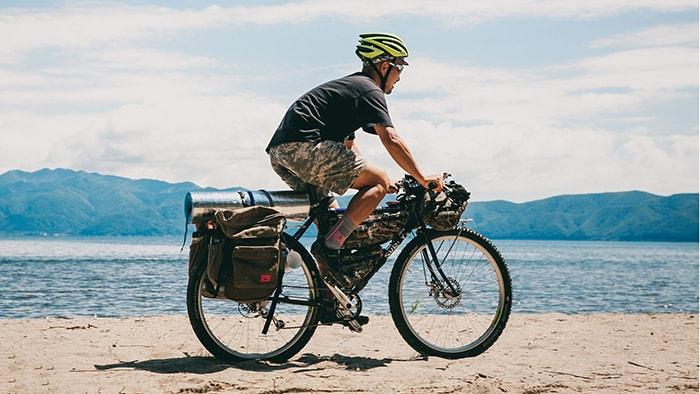 Xe địa hình là loại xe đạp rất phù hợp để đi phượt