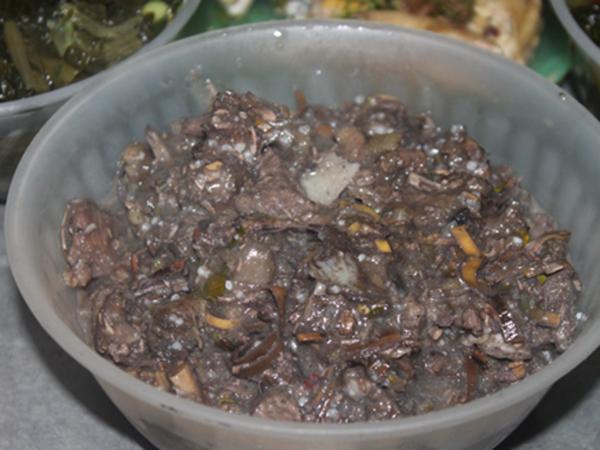 Thịt thối - đặc sản Mường La