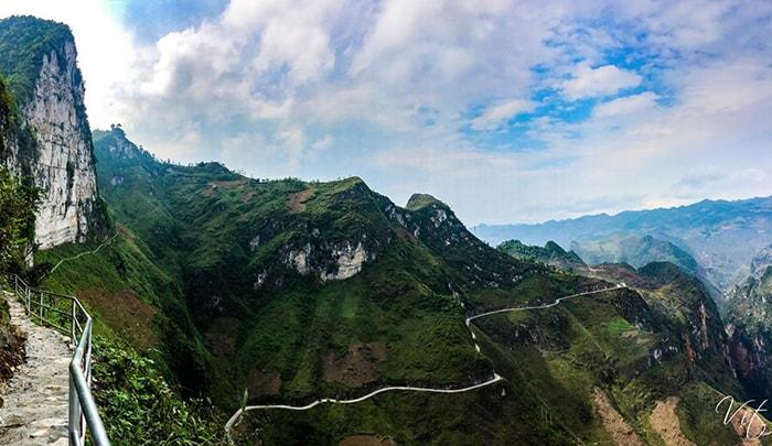 Đường trekking đỉnhĐèo Mã Pì Lèng