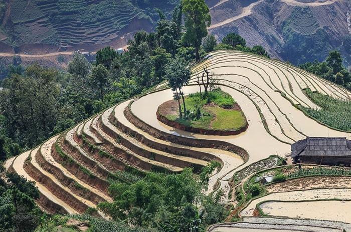 Vẻ đẹp của Hà Giang mùa nước đổ