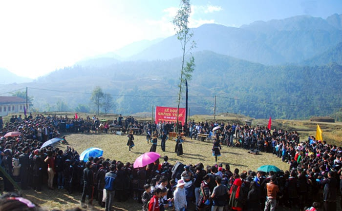 Lễ hội Gầu Tào của người Mông Hà Giang