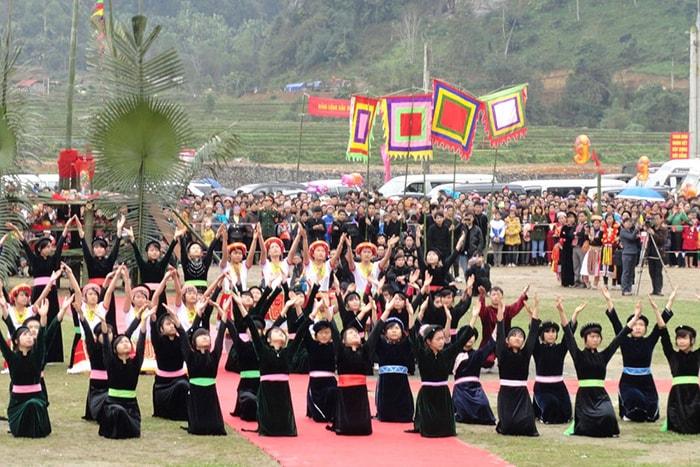 Lễ hội Lồng Tồng của người dân tộc Tày ở Hà Giang