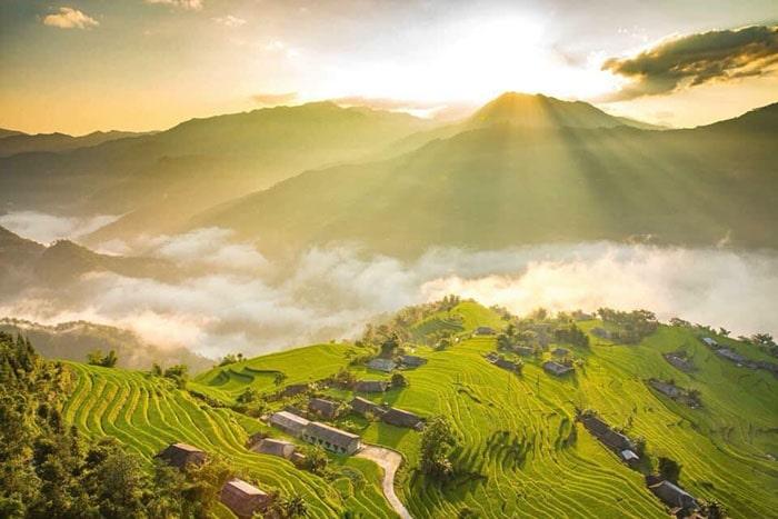 Mùa lúa chín ở bản Phùng, Hoàng Su Phì