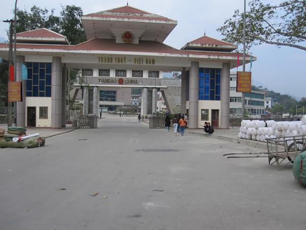 Cửa khẩu Thanh Thủy là cửa khẩu quốc gia duy nhất tại Hà Giang