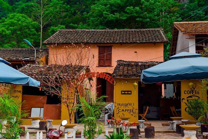 Quán cafe phố cổ ở Đồng Văn