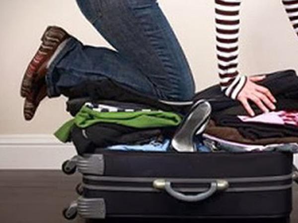 Tránh tình trạng mang nhiều hành lý