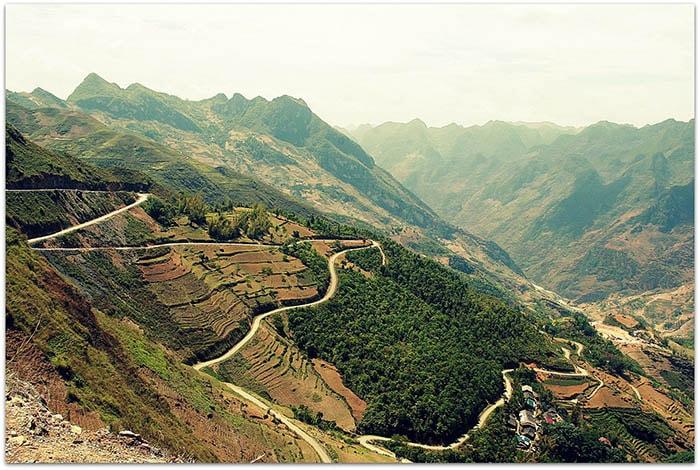Đường lên Xìn Cái - Mèo Vạc - Hà Giang