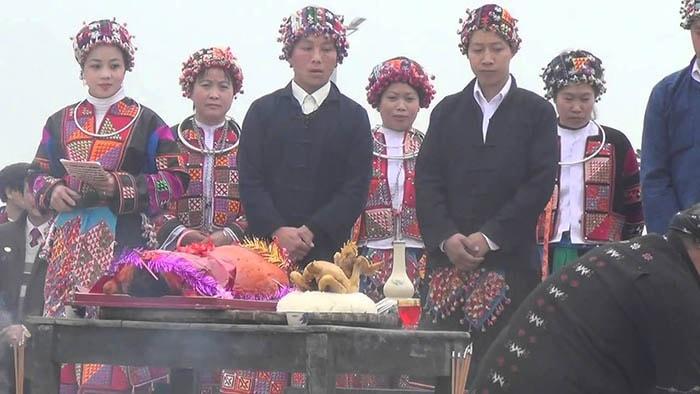 Lễ hội cầu mưa của người Lô Lô ở Hà Giang
