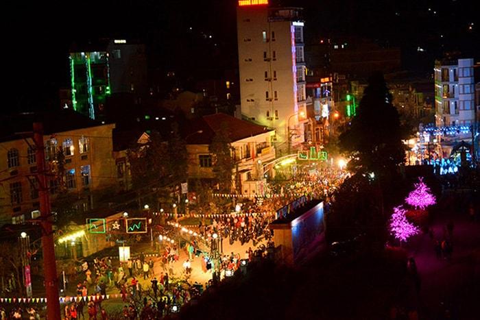 Thị trấn Đồng Văn về đêm