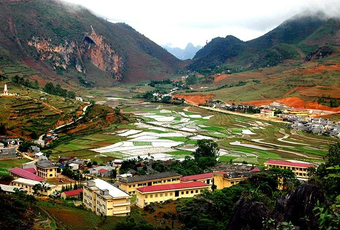 Một góc thị trấn Đồng Văn, Hà Giang