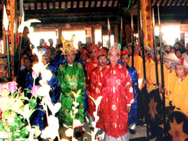Lễ hội đền Nhược Sơn