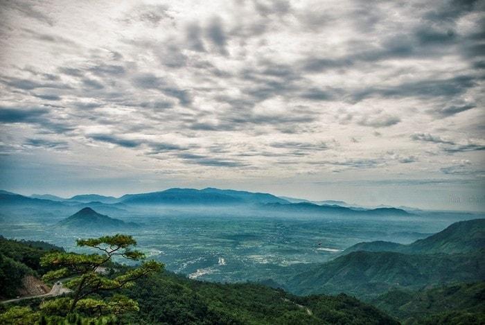 Đèo Ngoạn Mục nối liền Ninh Thuận và Lâm Đồng