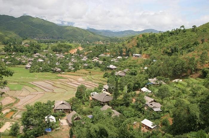 Bản Nà Luồng, thị xã Tam Đường, Lai Châu