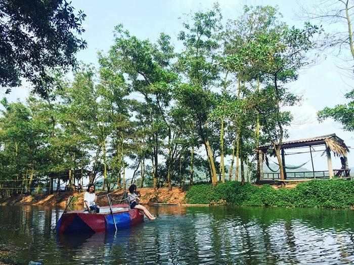 Các trò chơi thú vị ở My Hill, hồ Đồng Quan