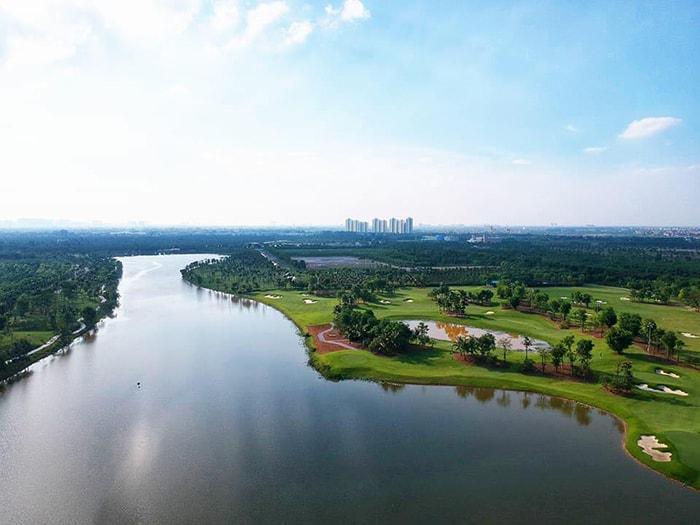 Ecopark là khu dã ngoại, cắm trại rất gần Hà Nội
