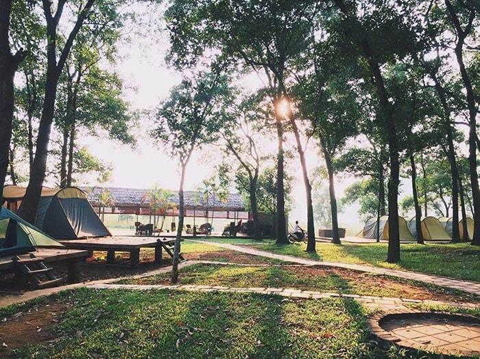 Cắm trại ở Sơn Tinh Camp