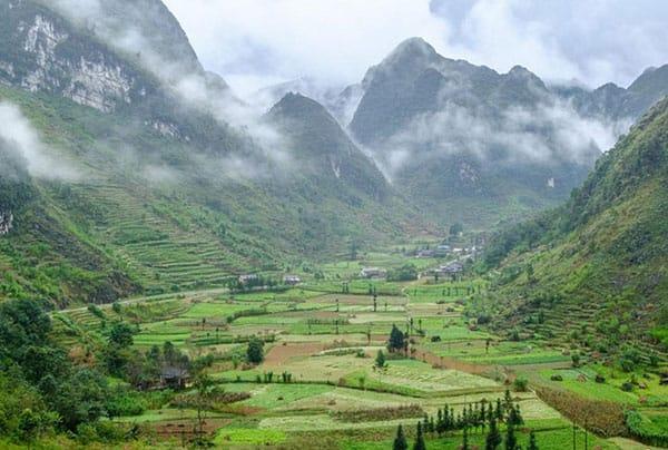 Chùm ảnh: Cao nguyên đá Đồng Văn những ngày Giáp Tết