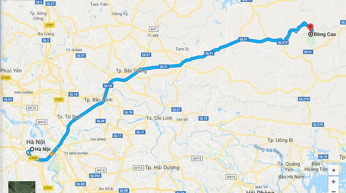 Cung đường phượt Hà Nội - Đồng Cao