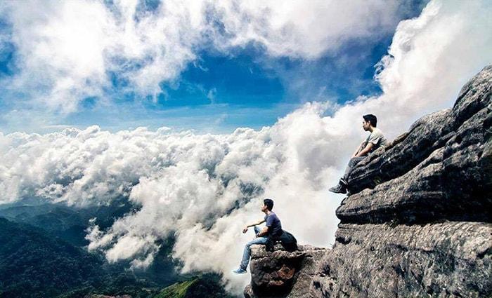 Săn mây trên đỉnh Pha Luông - Mộc Châu