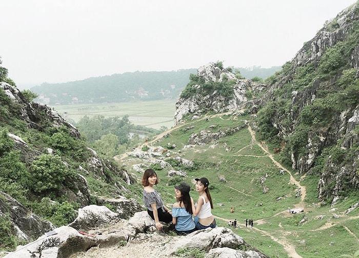 Phượt núi Trầm, Chương Mỹ, Hà Nội
