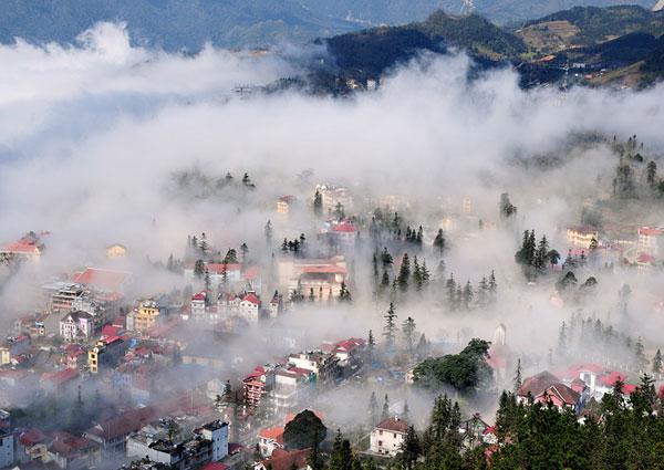 Tới thành phố trong sương – Sapa