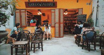 Những quán cafe sách ở Hà Nội dành cho dân Phượt