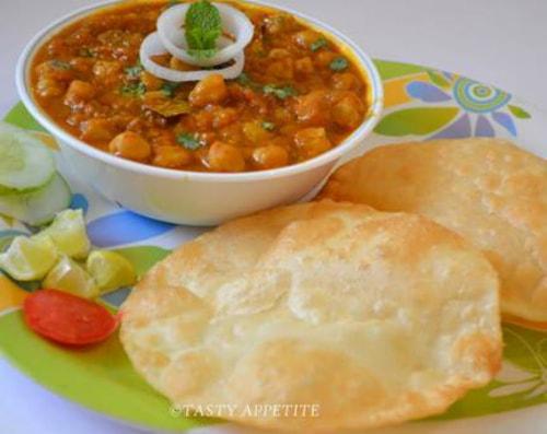 Chole bhature món ăn chỉ có tại Ấn Độ