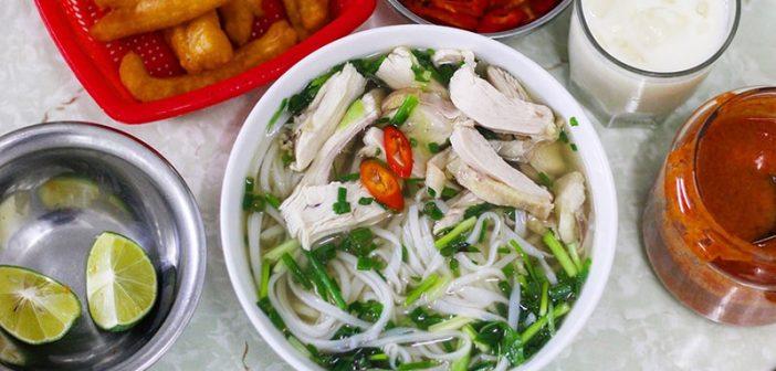 Những quán phở gà gia truyền nổi tiếng Hà Nội