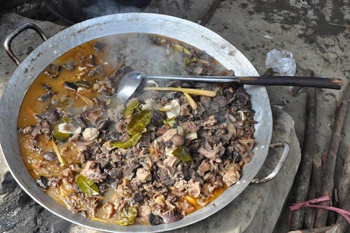 Đặc sản thắng cố nổi tiếng ở Hà Giang