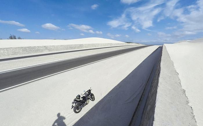Những đồi cát trắng ở Bàu Trắng