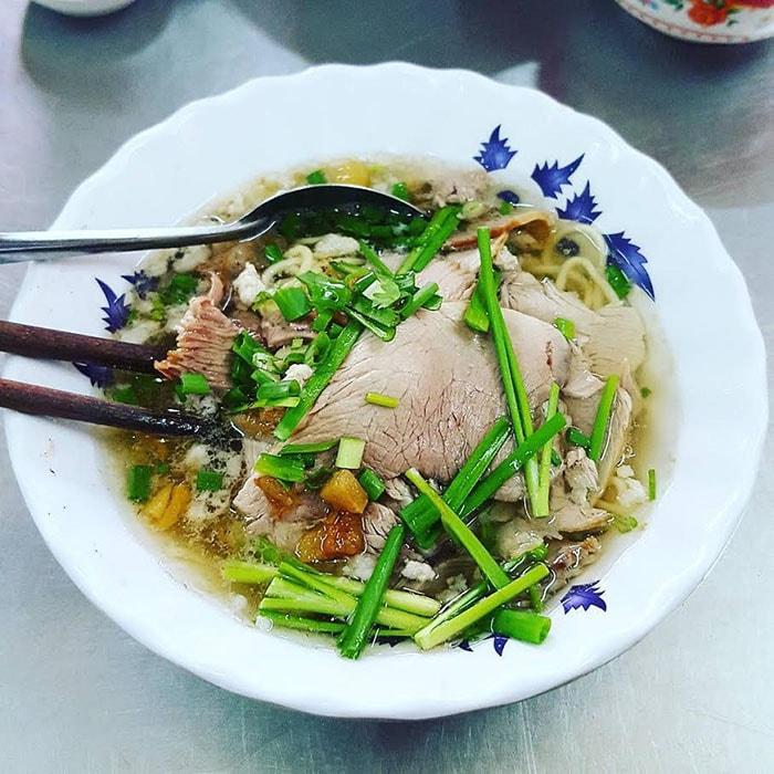 Hủ tiếu nổi tiếng ở Sài Gòn