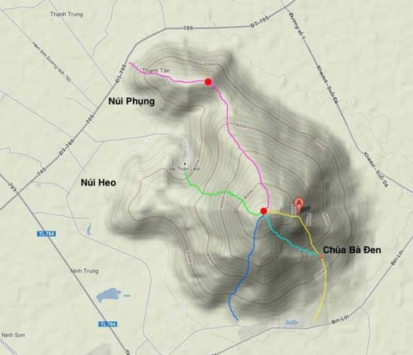 Kinh nghiệm chinh phục và săn mây đỉnh núi Bà Đen an toàn