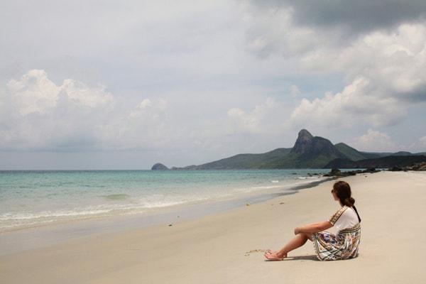 Đến với đảo Điệp Sơn là một trải nghiệm không bao giờ có thể quên với mình