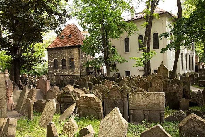 Nghĩa trang của người Do Thái, Czech