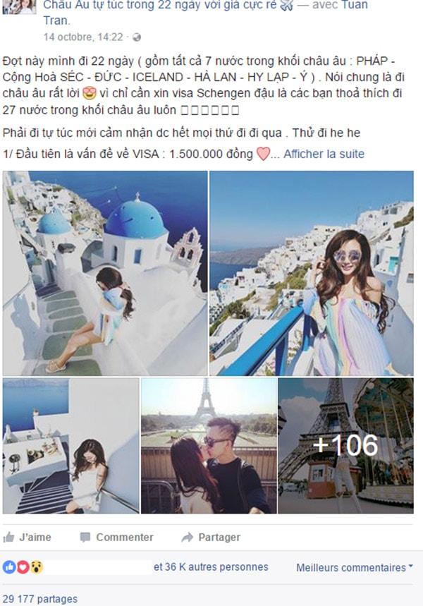 DJ Yuu chia sẻ kinh nghiệm du lịch châu Âu với 42 triệu