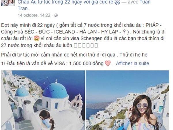 """Nữ DJ nói sự thật về chuyến du lịch châu Âu 22 ngày 42 triệu bị """"ném đá"""""""