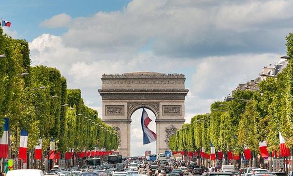 Arc de Triomphe – Bắc đẩu Khải Hoàn Môn