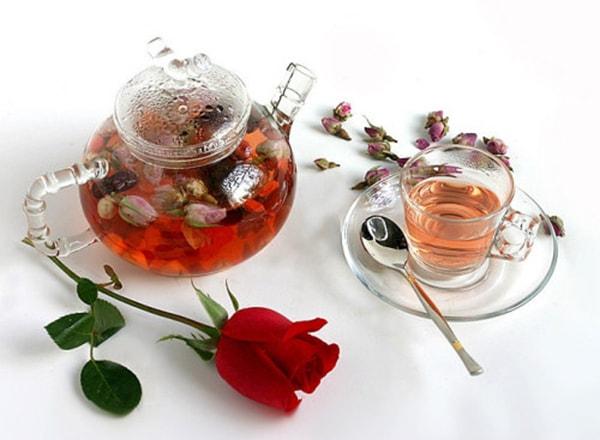 Trà hoa hồng