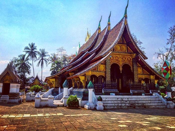 Wat Xieng Thonglà ngôi chùa đẹp nhất, cổ nhất ở Luang Prabang
