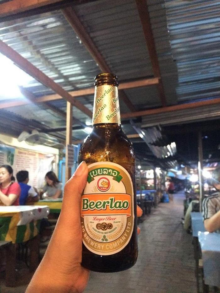 Đặc sản Beer Lào