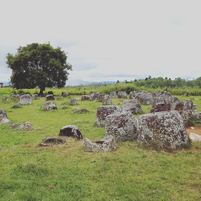 Cánh đồng Chum là khu vực văn hóa lịch sử nổi tiếng ở Lào