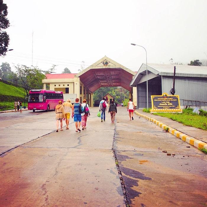 Cửa khẩu Nậm Cắn - Nghệ An
