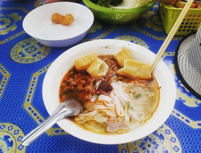 Khausoylà món ăn nổi tiếng ở Luang Prabang