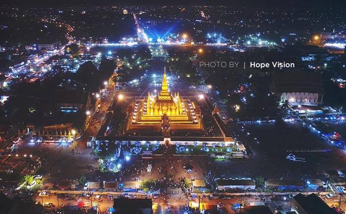 That Luang là di sản văn hóa thế giới và biểu tượng của Lào