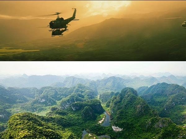 """Dấu ấn du lịch Ninh Bình từ """"Kong: Skull Island"""": Cảnh ngoài cũng đẹp như phim"""