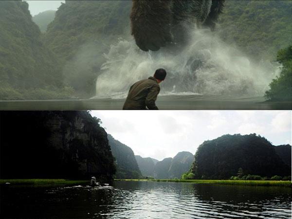 Cảnh đẹp Ninh Bình ngoài đời và trong phim Kong: Skull Island