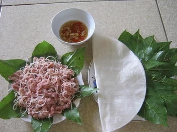 Nem Yên Mạc - đặc sản Ninh Bình
