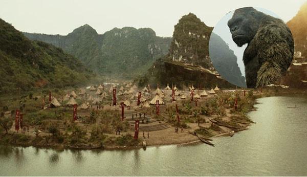Làng thổ dân trong Kong:Skull Island quay tại đầm Vân Long