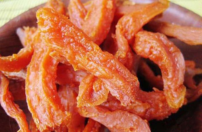 Khoai dẻo là món ăn khá độc đáo ở Quảng Bình